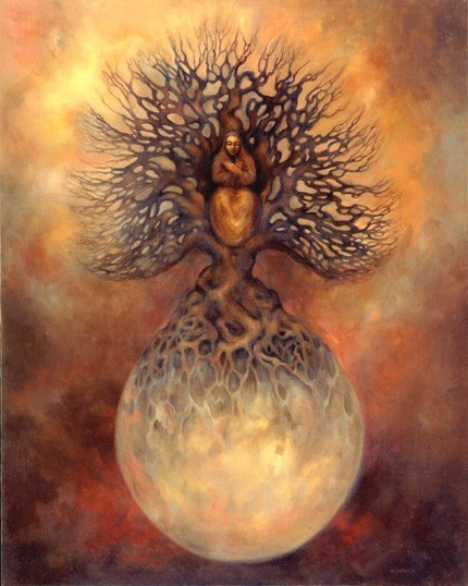 Full Moon Solstice in the Root Star