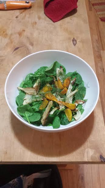 Autumn Roasted Vegetable Salad