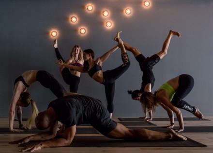 New Studio: Sweat Yoga Where Rock Reigns Supreme