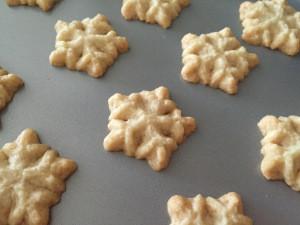 Vegan Spritz Cookies!