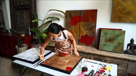 Have You Tried Lotus Leaf Painting?