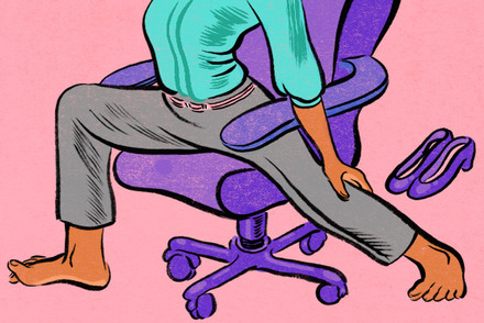 Don't Stand For Sitting At Your Desk!