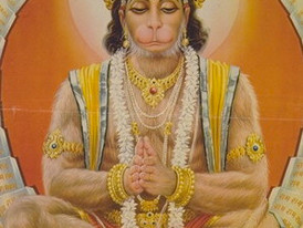 Happy New Year Hanuman