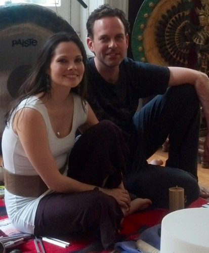 Eric Stoneberg and Lucy Child Bring The Spiritual Into The Yoga Studio