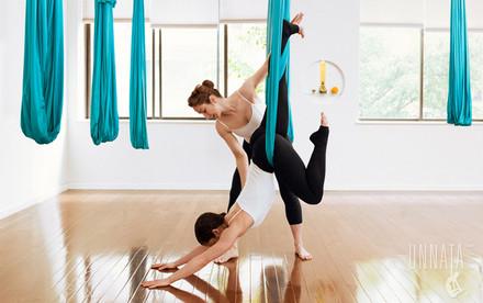 Unnata Aerial Yoga with Michelle Dortignac