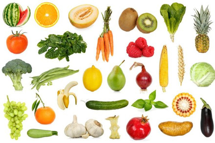Long Life With Fruits And Veggies