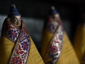 Buddha Heads and Butter Tea
