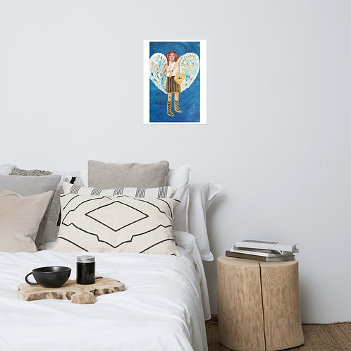 Archangel Michael Painting Poster
