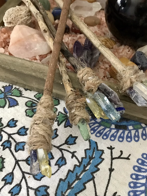 Crystal Wand Paint Brushes