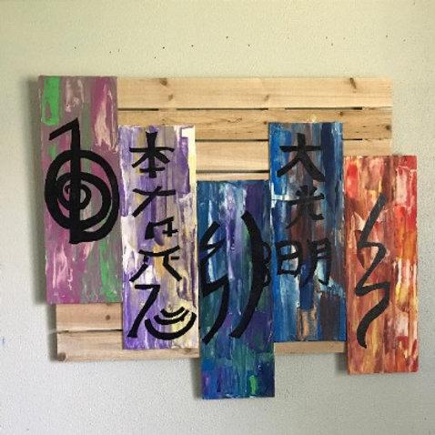 Five Symbols of Reiki