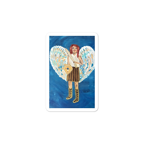 Bubble-free stickers Archangel Michael Painting