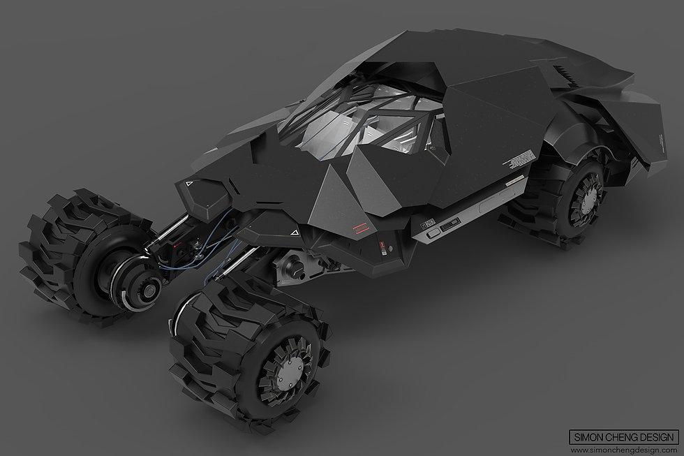 bat mobile concept