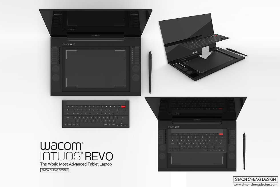 wacom tablet concept design