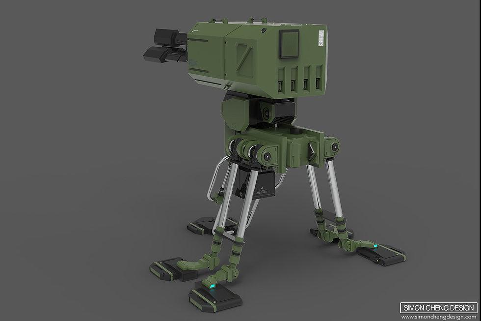 sentry concept design