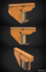 pistol gun concept design