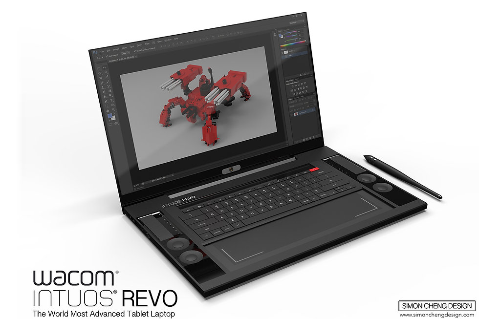 laptop concept design