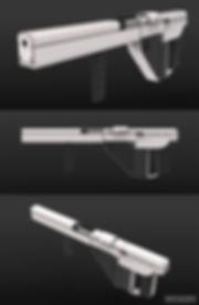 assault rifle concept design