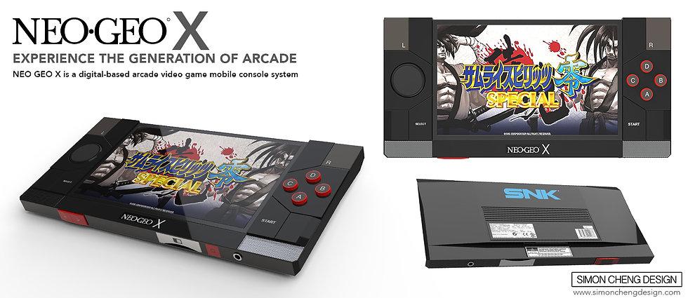 neo geo console concept design