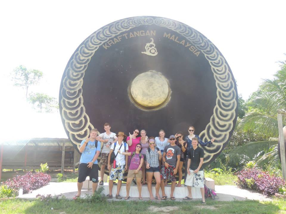 World's biggest gong - Malaysia