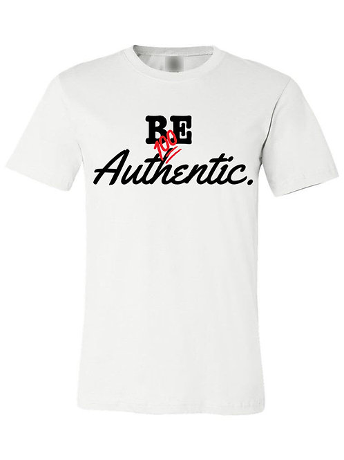 Be Authentic Tee - Unisex White