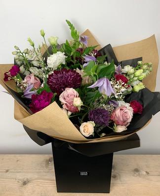 Aimee Bouquet £35/£55/£75 Aimee Hatbox £50