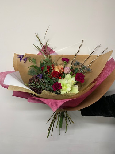 Festive Hand Tied Bouquets