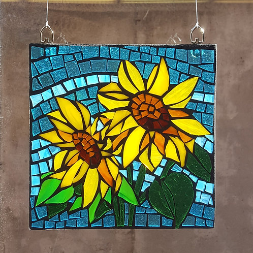Square Mosaic Suncatcher