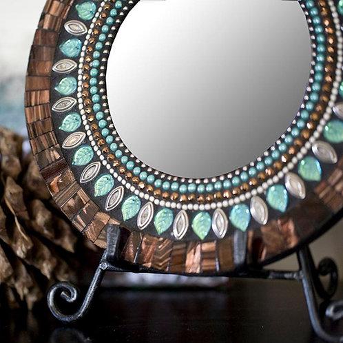 Sparkling Jewel Mosaic Mirror