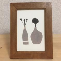 2つの花瓶
