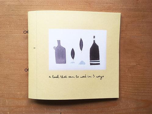 3つの使い方の本       A book that can be used in 3 ways