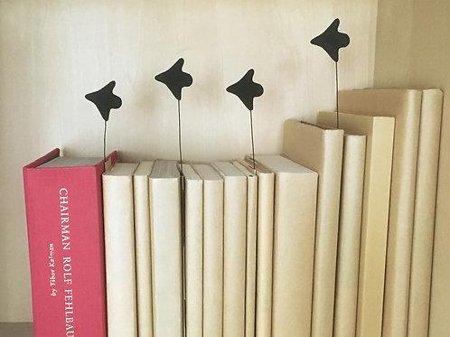 本棚を飛ぶ鳥