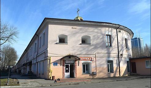 Казематована будівля військового госпіталю