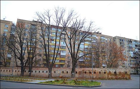 Горжева оборонна стіна Васильківського укріплення