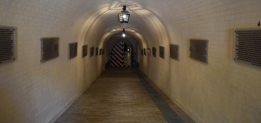 Потерна (підземна галерея) Косого капоніру