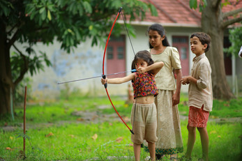 Archery at Camp Cardamom