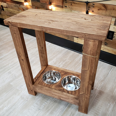 Pet Bowl Counter Table $115