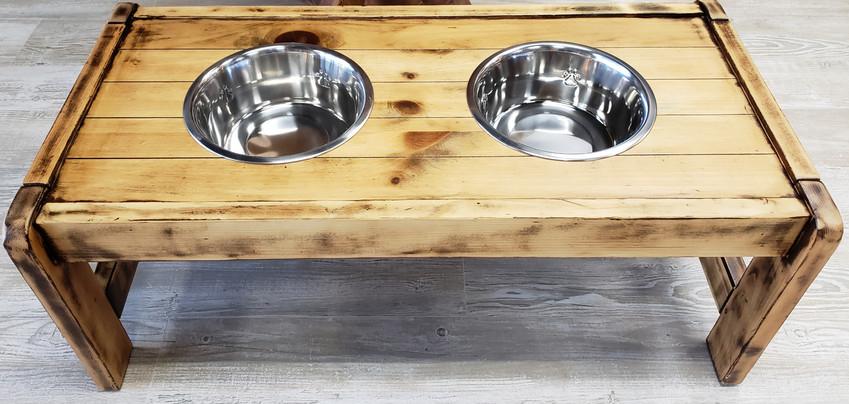 Dog Bowl Table $150