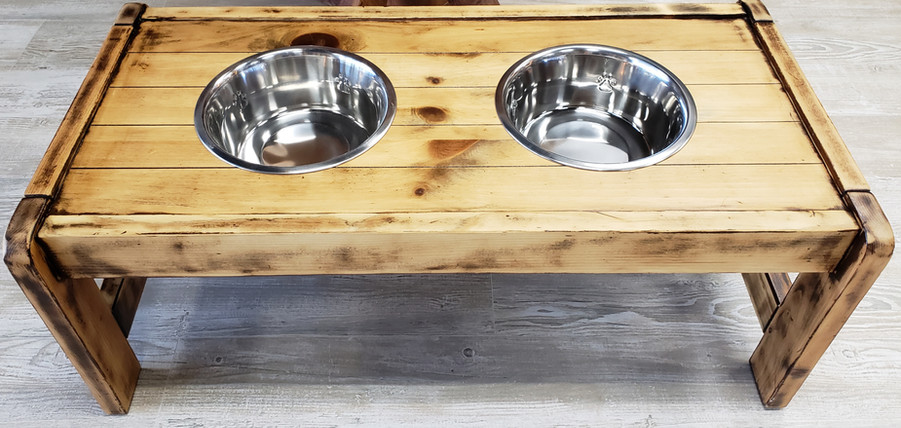 Dog Bowl Table $150