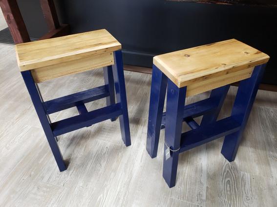 GO BLUE Bar Stools $140