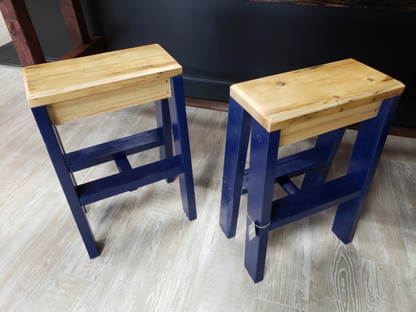 GO BLUE Bar Stools $140