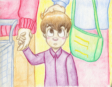 The Littlest Inventor -Entering the Store