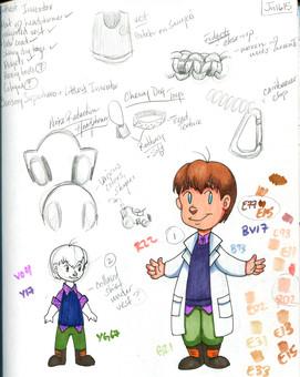 The Littlest Inventor - Concept Sketch