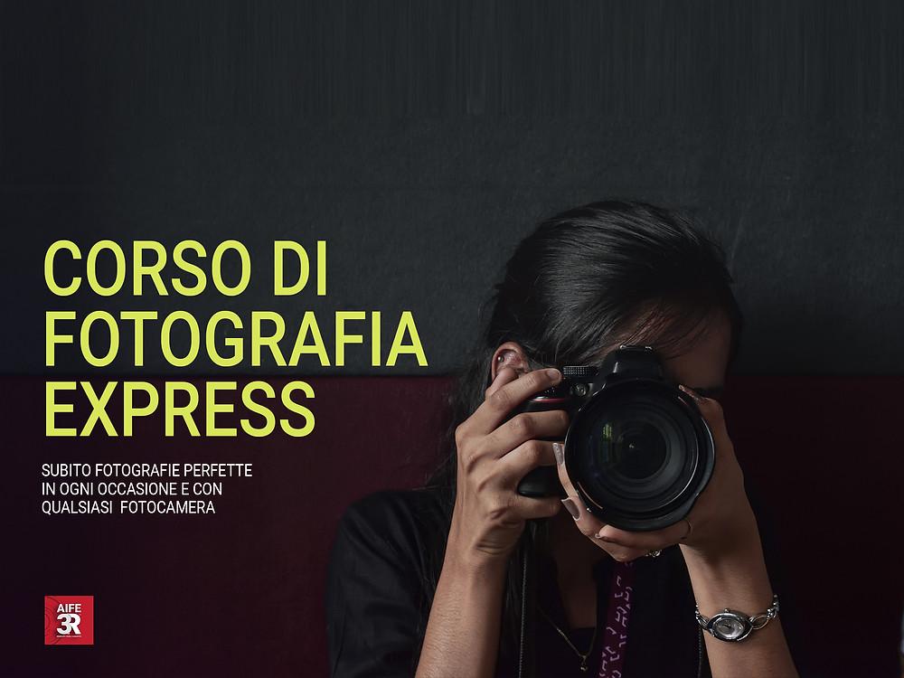 Scopri le date del prossimo Corso di Fotografia Express nella tua città