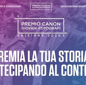 Premio Canon Giovani Fotografi: aperte le iscrizioni all'edizione 2020