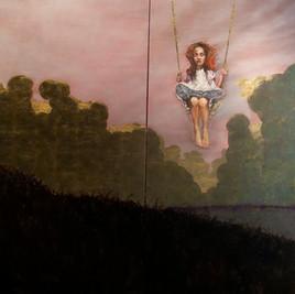 Girl on the Golden Swing