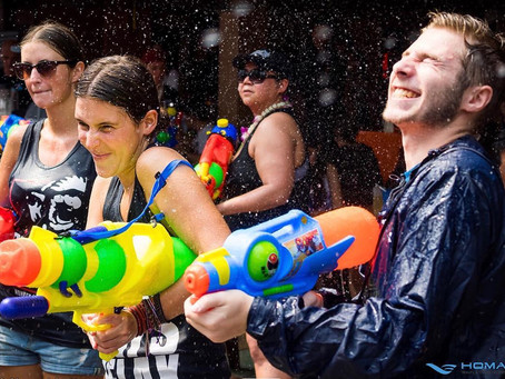 How to celebrate the Thai New Year- Songkran Water Festival 2019