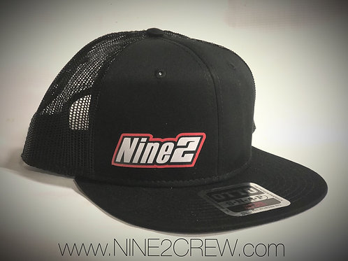 Nine2 Flat-Bill OTTO Black Hat