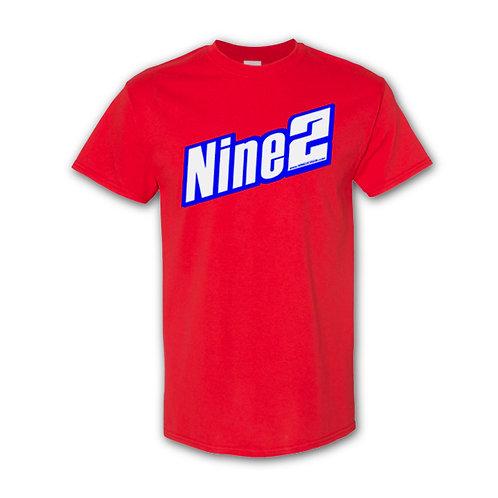 NINE2 T-Shirt - Red / White / Blue