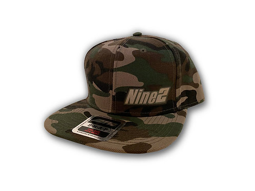 Nine2 Flat-Bill OTTO Camo Hat
