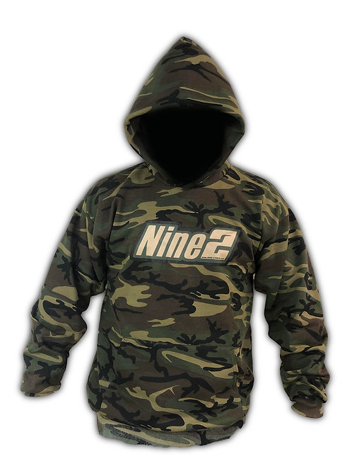 Nine2 Green Camo Sweatshirt
